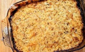 יאפצ'יק - קוגל משכבות תפוחי אדמה ובשר