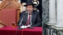 הרב משה בוחבוט - טבריה: הפגנה - מול הכתרת הרב הראשי