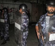 שוטרים פלסטינים, אילוסטרציה - בכביש לביתר: שוטרים פלסטינים היכו עצור