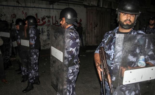 שוטרים פלסטינים, אילוסטרציה