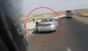פעילות נגד גנבי רכב; צפו במרדף הדרמטי
