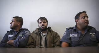 יוסף חיים בן דוד בבית המשפט - היום: הכרעת הדין במשפט רצח אבו חדיר