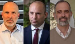 המתמודדים:יצחק זאגא, נפתלי בנט, יונתן ברנסקי