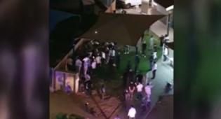 כתב אישום: חנק שוטר שאכף בבית הכנסת