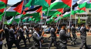 """החגיגות על כניעת ישראל - חגיגת החמאס: """"ניצחנו בקרב על אל אקצא"""""""