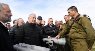 נתניהו והקבינט עם מפקדי צה''ל בצפון - הקבינט הביטחוני קיים דיון מיוחד על הצפון