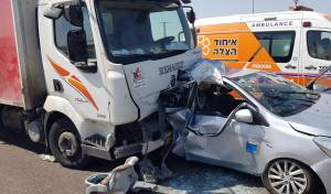 תאונה מחרידה: אם ובנה בן החודשיים נהרגו