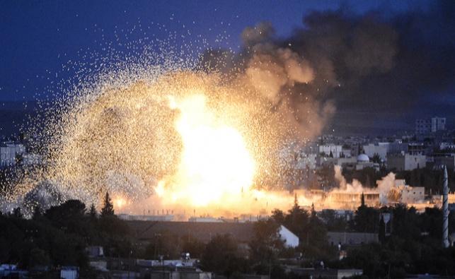 הפצצה בסוריה. ארכיון