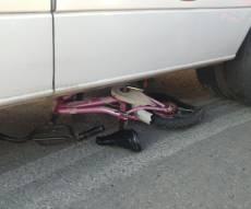 זירת התאונה, הבוקר - בדרך לחיידר: בן 10 נפצע באורח קל-בינוני