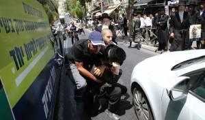 ה'סמויים' עצרו צעיר נוסף שתלש את עזריה