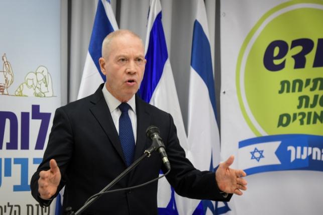 גלנט: לא אעניק את פרס ישראל לפרופסור