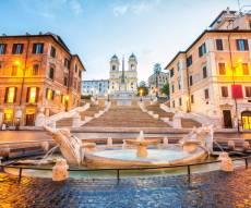 מדרגות ספרדיות רומא אסור לשבת