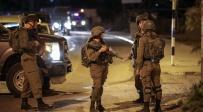 חיילים בחוסאן ליד זירת הפיגוע אמש