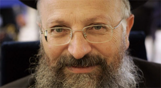 הרב שמואל אליהו (צילום: פלאש 90)