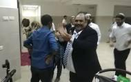 הריקוד של ברהנו טגניה בחתונה במקלט. צפו