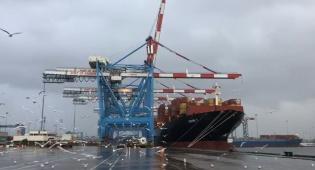 צפו: כך נמל אשדוד נערך לסערה הגדולה