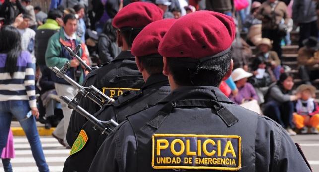 שוטרים בפרו. אילוסטרציה