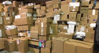 """בלאק פריידיי: 300 טון חבילות הגיעו מחו""""ל"""
