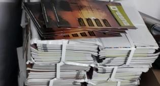 אלפי גליונות 'מחפשים' שיצא לאור לפני חודשיים, עם הגיעם מבית הדפוס ליד לאחים