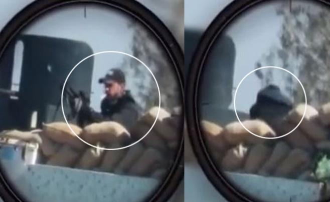 """לוחמי דאעש מציגים: """"הצלף"""" • צפו בווידאו"""