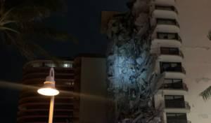 בשכונה היהודית: בניין דירות קרס במיאמי
