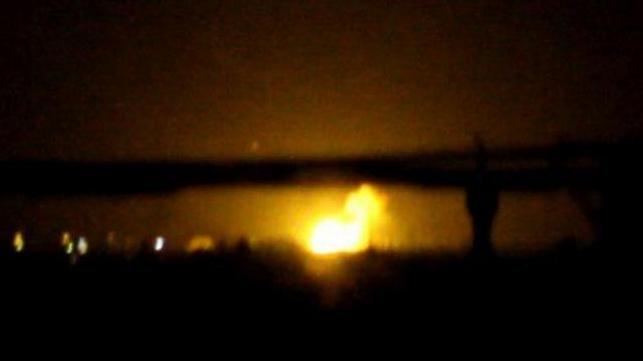 תיעוד של הפיצוצים בדמשק