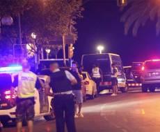 זירת האירועים בקמברליס - פיגוע דריסה נוסף בספרד: 5 מחבלים חוסלו