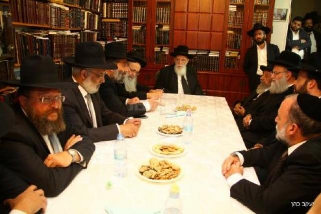 כינוס מועצת חכמי התורה בשבוע שעבר