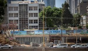 אתר הבנייה של 'גשר יהודית'