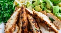 סלט עוף ואבוקדו - מרוב שזה טעים תשכחו שזה בריא: סלט עוף ואבוקדו