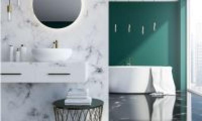 כך תעצבו חדר אמבטיה שנראה תמיד נקי
