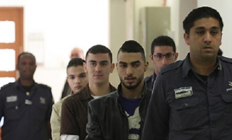 המחבלים בבית המשפט - הורשעו רוצחי הקורבן הראשון של גל הטרור
