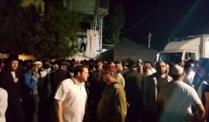 אלפים עלו לקברו של יהושע בן נון בשומרון