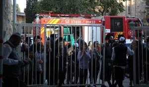 שריפה בתולדות אהרן: תלמידי החיידר פונו