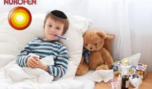 רצוי לטפל בילד בתרופות מורידות חום כמו נורופן לילדים. אילוסטרציה