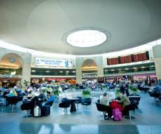 """נמל התעופה בן גוריון, אולם ההמתנה לטיסות - נתב""""ג נבחר לאחד מהנמלים הטובים בעולם"""