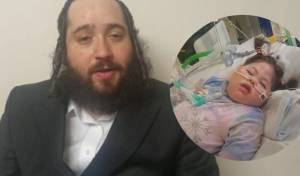 האב, אברהם פיקסלר - ברקע: בתו המונשמת