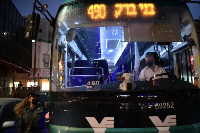 אוטובוס בבני ברק