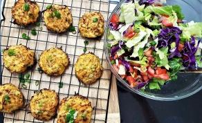 קציצות ירק אפויות - קציצות ירק אפויות בתנור שמתחסלות ברגע