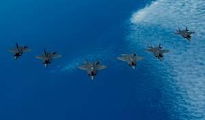 מטוסי ה'אדיר' השתתפו באימון בינלאומי