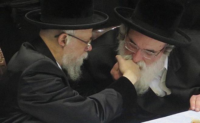 הרבי מסערט ויז'ניץ עם הרבי מויז'ניץ