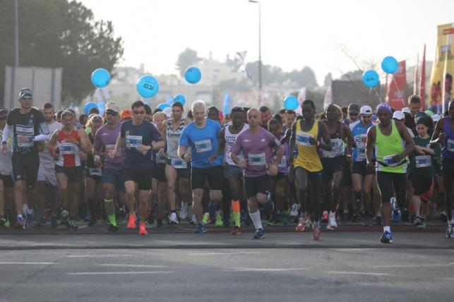 מרתון ירושלים: רשימת הכבישים החסומים