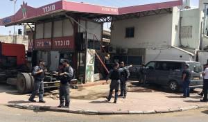 המשטרה סגרה תחנת דלק פיראטית  • תיעוד