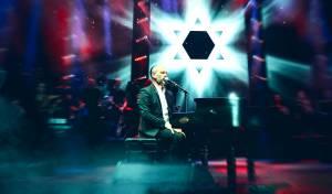 """יונתן רזאל בקליפ ביצוע לייב לשירו: """"דוד"""""""