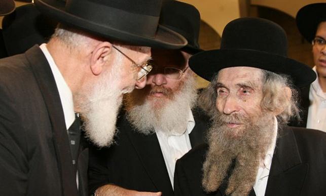 """הרב שלום כהן עם הגראי""""ל"""