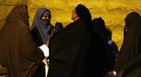 נשות ה'שאלים' (צילום: פלאש 90)