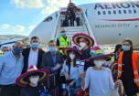 230 יהודים עלו ממקסיקו לישראל • תיעוד