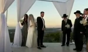 מזל טוב: בתו של הזמר עמירן דביר התחתנה