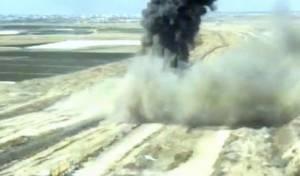 צפו בתיעוד: כך הושמדה מנהרת הג'יהאד