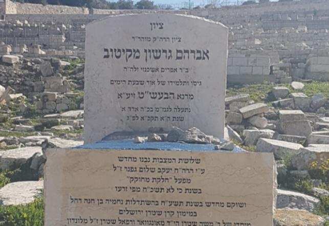 הציון הקדוש בהר הזיתים